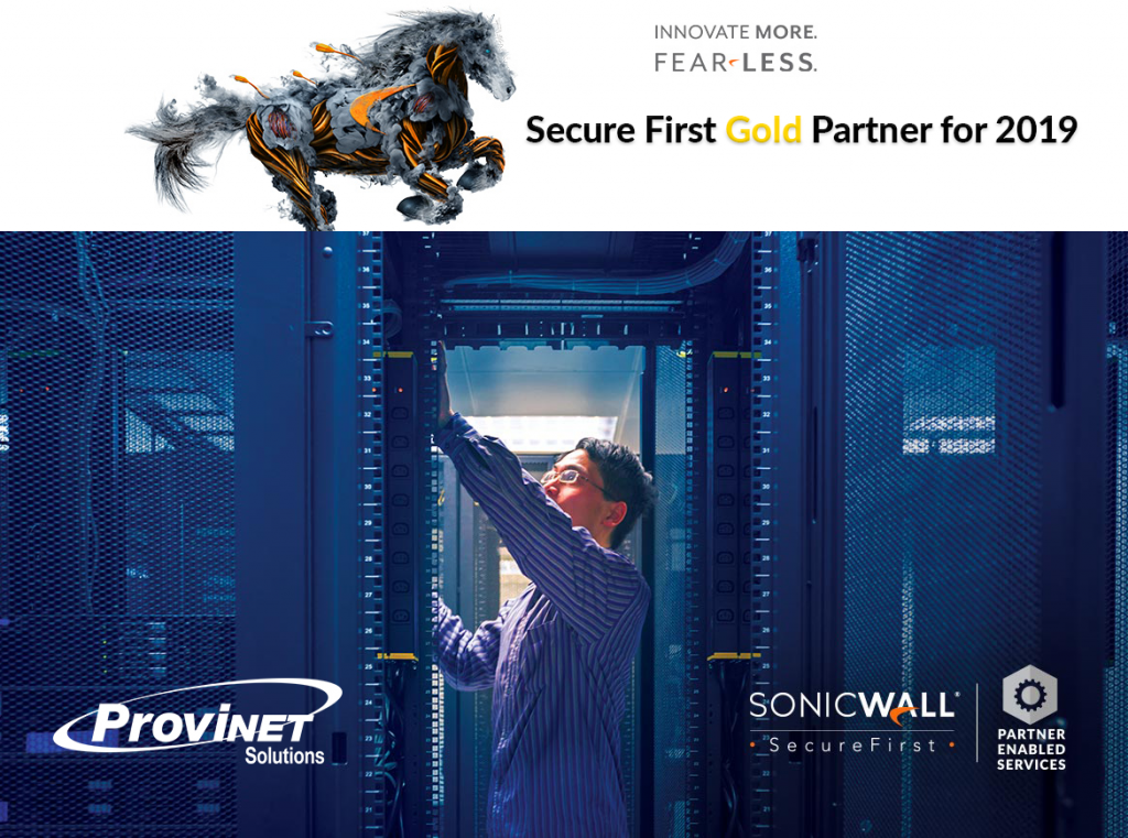 SonicWall Gold Partner