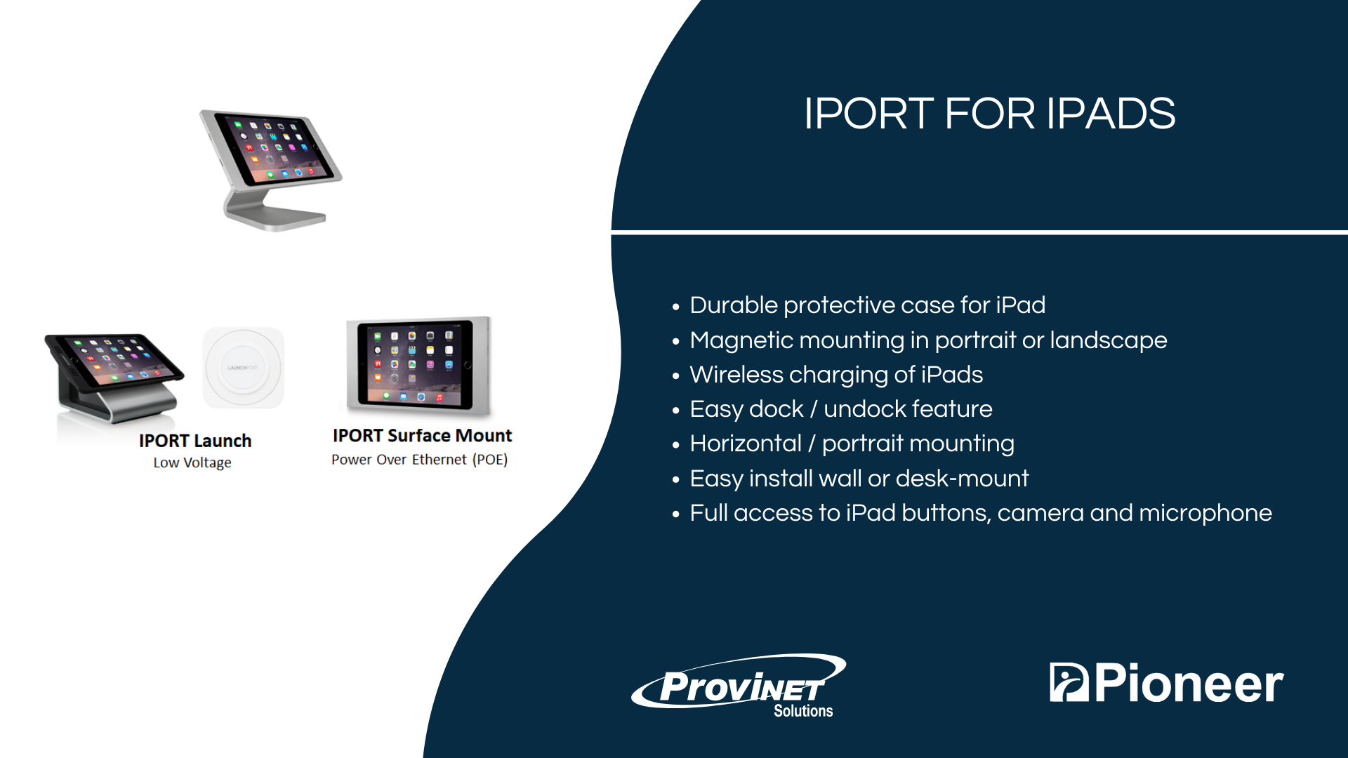 IPORT for iPads