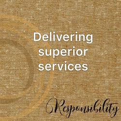 Deliver Superior Services